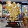 Phật Di Lạc như ý vàng Y099
