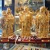 Tam tinh tụ tài vàng Y142