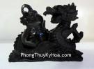 Rồng đen ôm hồ lô DT214