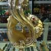 Cá chép vàng đế thủy tinh A184
