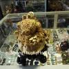 Thiềm Thừ Bột Đá Mạ Vàng A095