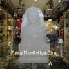 Phật Quan Âm Bạch Ngọc Ngồi H044