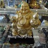 Phật Di lặc mạ vàng A138