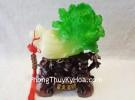 Bắp cải xanh trên bụi tre + xâu tiền K189M