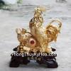 Gà vàng bên hồ lô vàng G030A