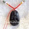 Phật bản mệnh đá hắc ngà tuổi dậu S6340-7
