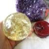 Quả cầu thạch anh vàng đặc biệt GM150-7234