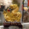 Rồng Vàng Phun Châu Đồng Tiền C077A
