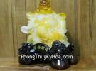Phật di lạc vàng cam trên túi tiền C131A