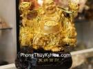 Phật di lạc gánh như ý C133A