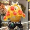 Giỏ mẫu đơn vàng hoa đỏ C196A