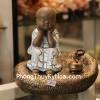 Tiểu Phật Tụng Chú Thạch Bàn C210A