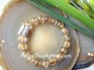 Chuỗi thạch anh tóc vàng đậm Uruguay A+++ S6365-S4-4997