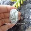 Mặt 12 con giáp Phỉ Thúy xanh nhỏ A+ tuổi hợi S6641-12