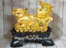 Vua heo vàng kéo xe bắp cải tiền LN027