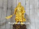 Đức quan công vàng kim sa kiếm tay trung nghĩa LN195