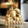 Hoàng gia ngũ tí trên tiền vàng D293