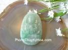 Phật bản mệnh ngọc Phỉ Thúy xanh đậm sắc sảo A+ lớn tuổi Mùi, Thân S6864-6