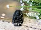 Phật bản mệnh đá hắc ngà lớn  – Thìn, Tỵ (Phổ Hiền Bồ Tát) S6844-4
