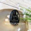 Phật bản mệnh đá hắc ngà lớn  – Dậu (Bất Động Minh Vương) S6844-7