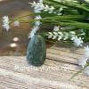 Phật bản mệnh Phỉ Thúy xanh đậm sắc sảo A+ nhỏ tuổi Tý S6865-1