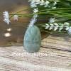 Phật bản mệnh Phỉ Thúy xanh đậm sắc sảo A+ nhỏ tuổi Sửu, Dần S6865-2