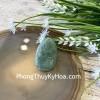 Phật bản mệnh Phỉ Thúy xanh đậm sắc sảo A+ nhỏ tuổi Mão S6865-3
