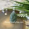 Phật bản mệnh Phỉ Thúy xanh đậm sắc sảo A+ nhỏ tuổi Ngọ S6865-5