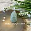 Phật bản mệnh Phỉ Thúy xanh đậm sắc sảo A+ nhỏ tuổi Tuất, Hợi S6865-8