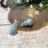 Hồ lô ngọc phỉ thúy sắc sảo xanh trong lớn S6893
