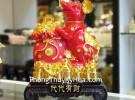 Chuột đỏ trên đống vàng TM004