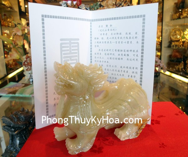 ty huu bac kinh xanh trung02 Bảo khí Tỳ hưu Bắc Kinh xanh trung BKX M