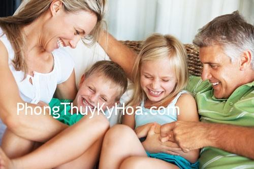 gia dinh d Phong Thủy và sức khỏe gia đình