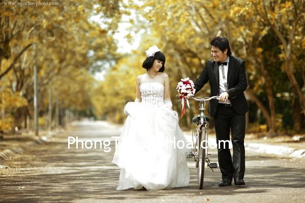 chup hinh cuoi lang man1 Phong thủy cho đám cưới