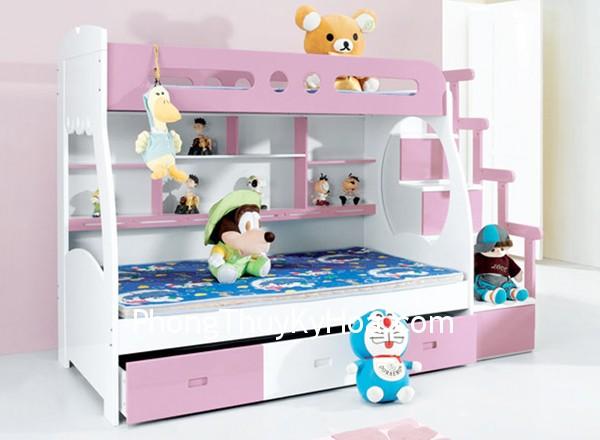 giuong Trẻ ngủ trên giường tầng được không?