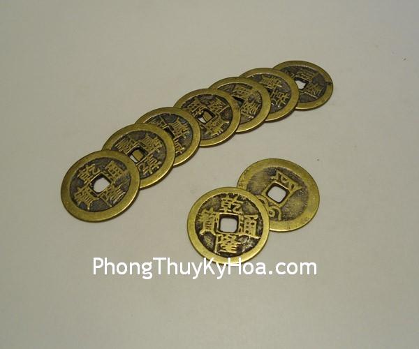 tien can long nho 02 Đồng xu Hồng Kông