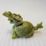 H030 3 150x150 Rùa đầu rồng lam ngọc trơn nhỏ H030