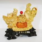 g003a gia dinh ga chau do 1 150x150 Gia đình gà trên hũ vàng nhỏ G003A