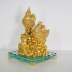 g011a gia dinh ga toan gia phuoc 2 150x150 Gia đình gà trên đống vàng đế thủy tinh G011A