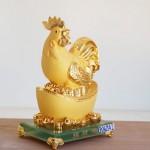 g062a 2 ga vang nen vang 150x150 Gà vàng trên kim nguyên bảo vàng G062A 2
