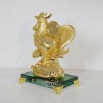 g067a ga vang de thuy tinh 2 150x150 Gà vàng trên đế thủy tinh G067A
