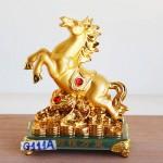 g111a ngua vang de thuy tinh 2 150x150 Ngựa vàng trên như ý đống tiền vàng đế thủy tinh G111A