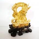 g097a rong vang lon 1 150x150 Rồng vàng ôm hủ nguyên bảo lớn trên tiền G097A