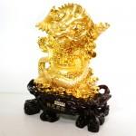 g097a rong vang lon 2 150x150 Rồng vàng ôm hủ nguyên bảo lớn trên tiền G097A