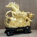 g114a ngua vang phi tren ho lo 2 150x150 Ngựa vàng phi nước đại trên hồ lô vàng G114A