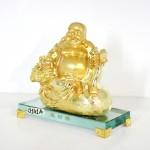 g141a di lac vang tui tien 2 150x150 Phật di lạc vàng ngồi trên túi tiền đế thủy tinh G141A