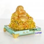 g144a di lac vang tieu nghenh bat phuong 1 150x150 Phật di lạc vàng cầm nén vàng ngồi trên đống vàng đế thủy tinh G144A