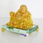 g144a di lac vang tieu nghenh bat phuong 2 150x150 Phật di lạc vàng cầm nén vàng ngồi trên đống vàng đế thủy tinh G144A