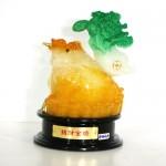 g161a coc vang cong cai xanh nho chieu tai kim thiem 150x150 Thiềm thừ ngọc vàng cõng cải xanh (nhỏ) G161A