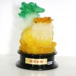 g161a coc vang cong cai xanh nho chieu tai kim thiem 2 150x150 Thiềm thừ ngọc vàng cõng cải xanh (nhỏ) G161A